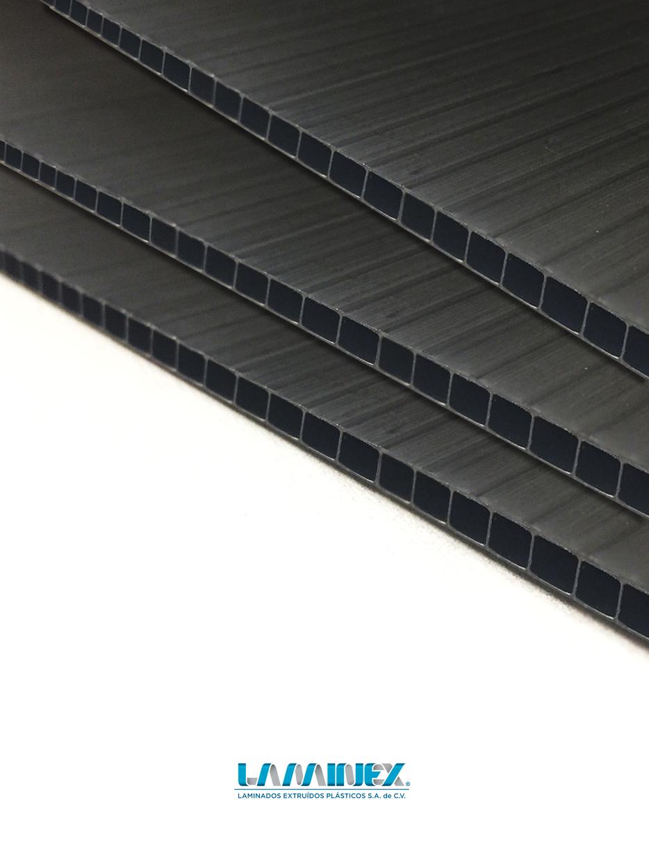 Lamina de plastico conductiva esd laminex for Laminas de plastico para paredes