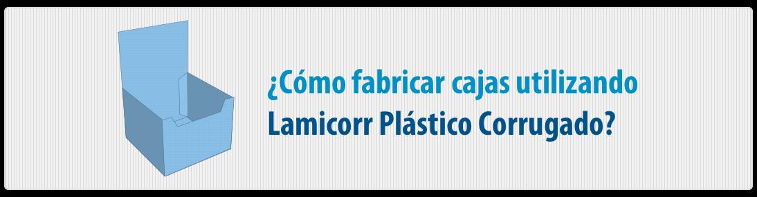 cajas de plastico corrugado